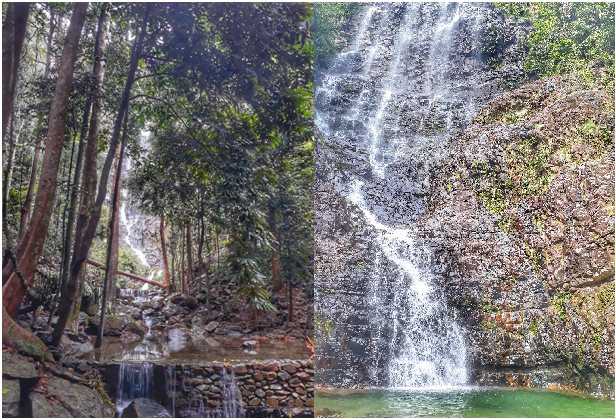 Air TerjunTerumun (Terumun Waterfall)